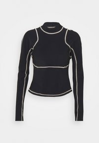 Sweaty Betty - SWEATY BETTY X HALLE BERRY SOFIA TRAINING RASH GUARD - Sports shirt - black - 0