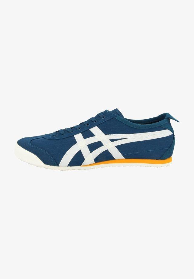 Sneakers laag - mako blue-cream