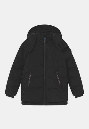 WATER-REPELLENT RECYCLED  - Winter coat - black