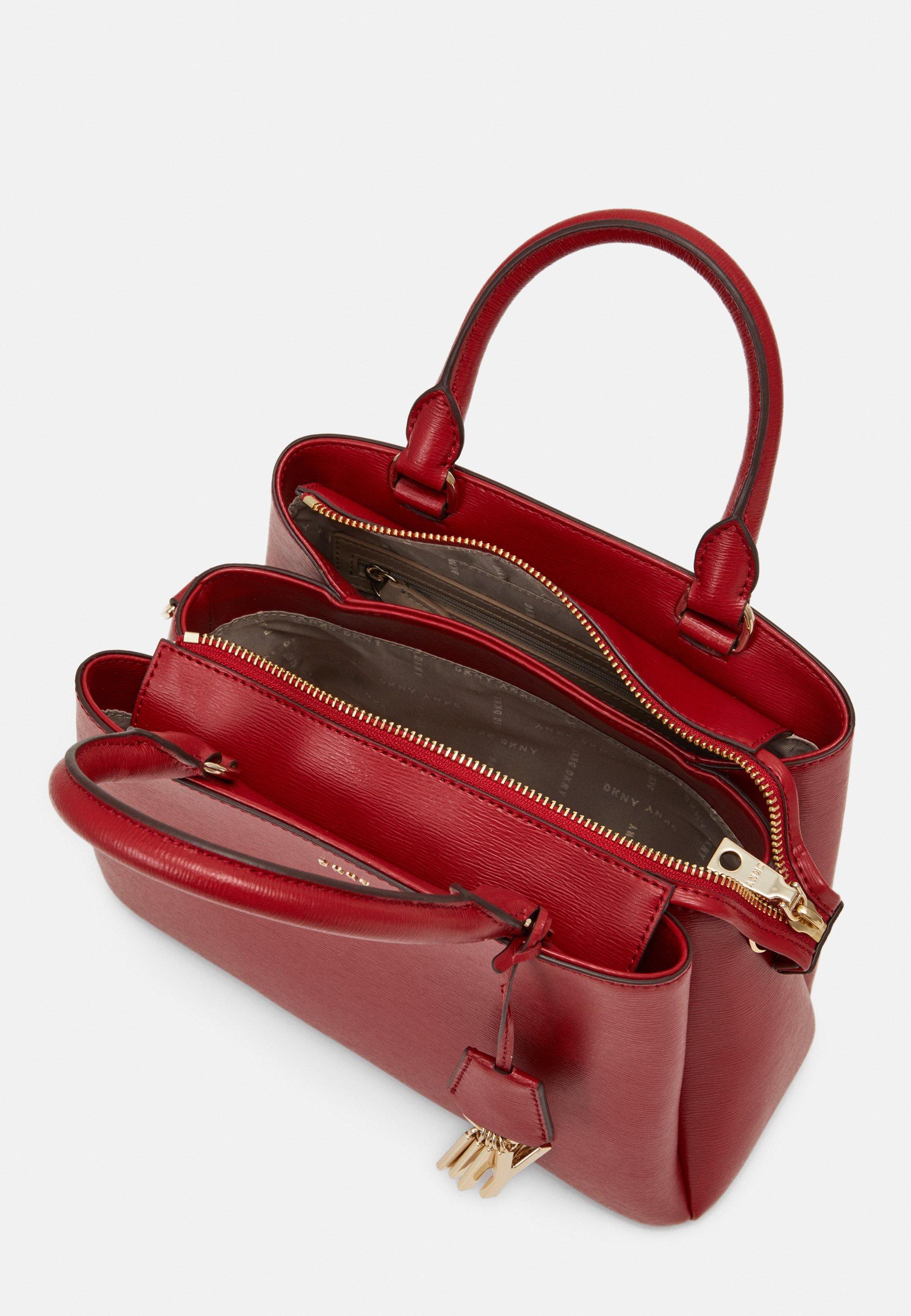 DKNY SATCHEL - Håndveske - bright red/rød xonfaVfSRFSiz2o