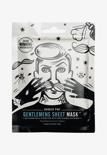 GENTLEMEN'S SHEET MASK 23G - Face mask - -