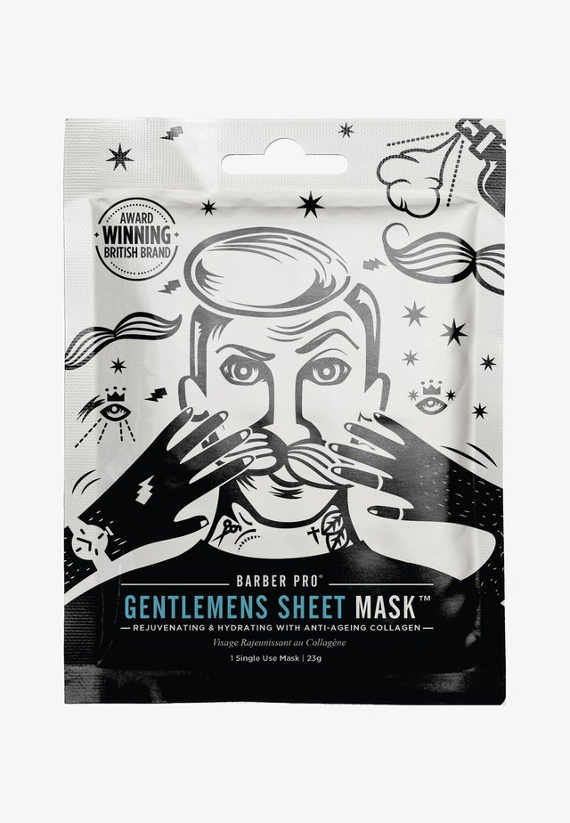 GENTLEMEN'S SHEET MASK 23G - Ansiktsmask - -