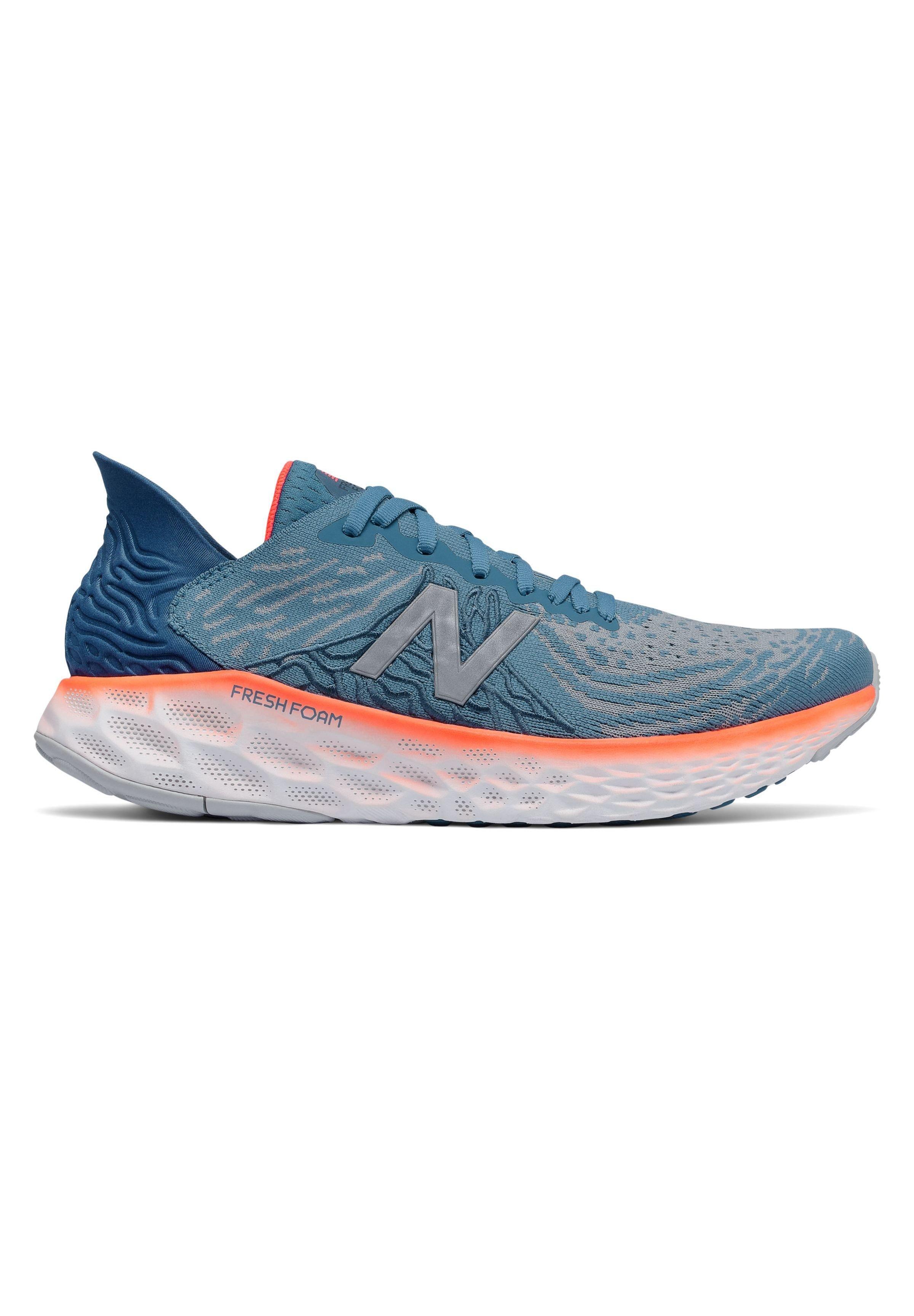 FRESH FOAM 1080 V10 - Chaussures de running neutres - nb light blue/dynamite