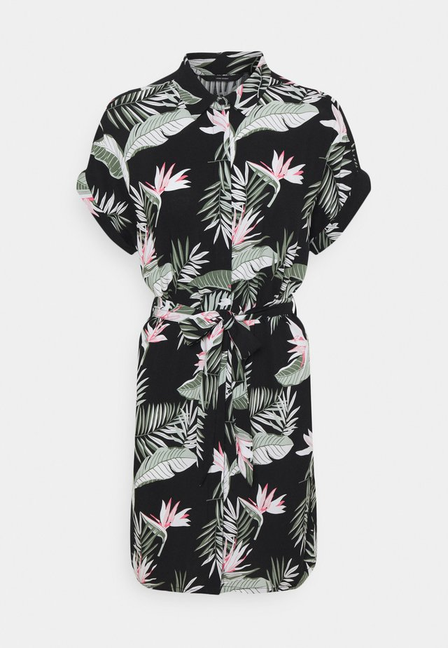 VMSIMPLY EASY DRESS - Shirt dress - black