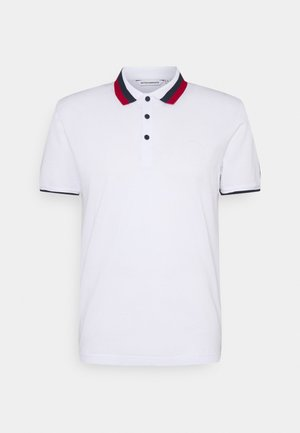 SLIM FITINMERCERIZED WITH REFLECTIVE  - Polo shirt - bianco