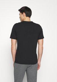 Calvin Klein Underwear - ONE GRAPHIC TEES CREW NECK - Nachtwäsche Shirt - black - 2