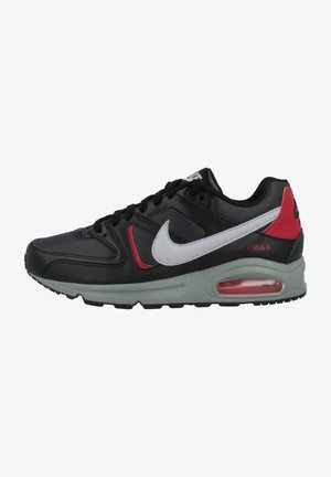 AIR MAX COMMAND - Trainers - black-wolf grey-anthracite-noble red-smoke grey
