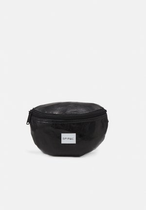 BUM BAG - Saszetka nerka - black glaze