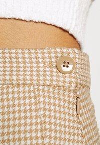 Monki - TINDRA SKIRT - Pleated skirt - beige medium dusty - 5
