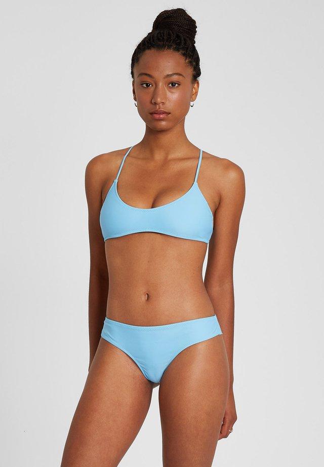 SIMPLY SOLID SCOOP - Bikini pezzo sopra - coastal blue