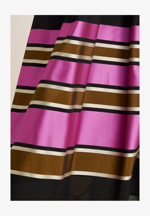 TARTINA - A-line skirt - nero-multicolor