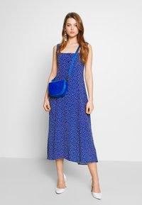 Rolla's - CLAIRE MINI TULIPS DRESS - Day dress - marine blue - 1
