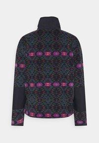 Columbia - BENTON SPRINGS™ CROP - Fleecepullover - plum blanket/dark nocturnal - 1