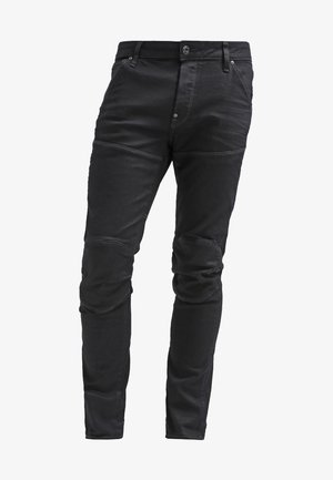 5620 3D SLIM - Jeans slim fit - black pintt stretch denim