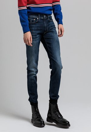 ACTIVE-RECOVER  - Jeans slim fit - dark blue vintage