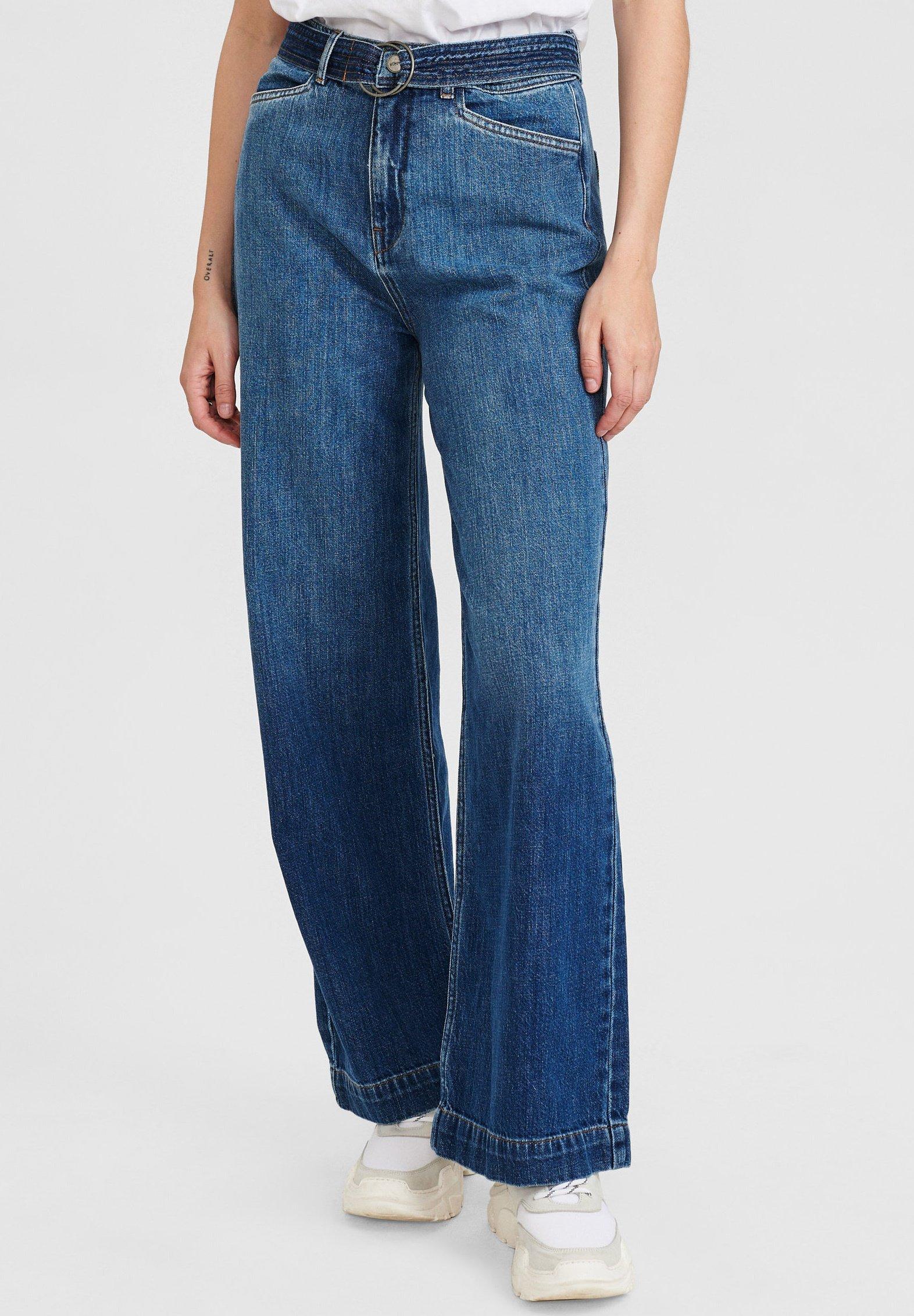 Damer NUCAROLINA - Flared jeans