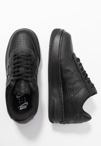 Nike Sportswear - AIR FORCE 1 SHADOW - Sneaker low - black - 3
