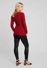 LOVE2WAIT - SHINY - Leggings - Trousers - black - 2