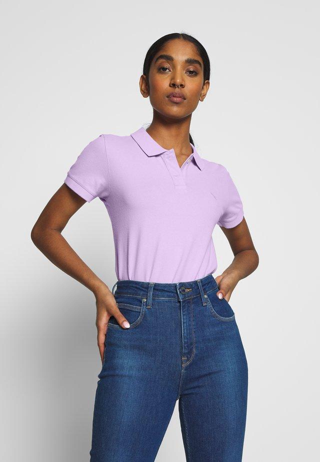 SOLIDS - Koszulka polo - lavender