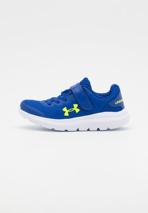 SURGE 2 UNISEX - Neutral running shoes - blue/white/yellow