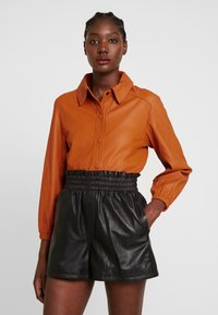 Ibana - KAYLA - Button-down blouse - orange - 0