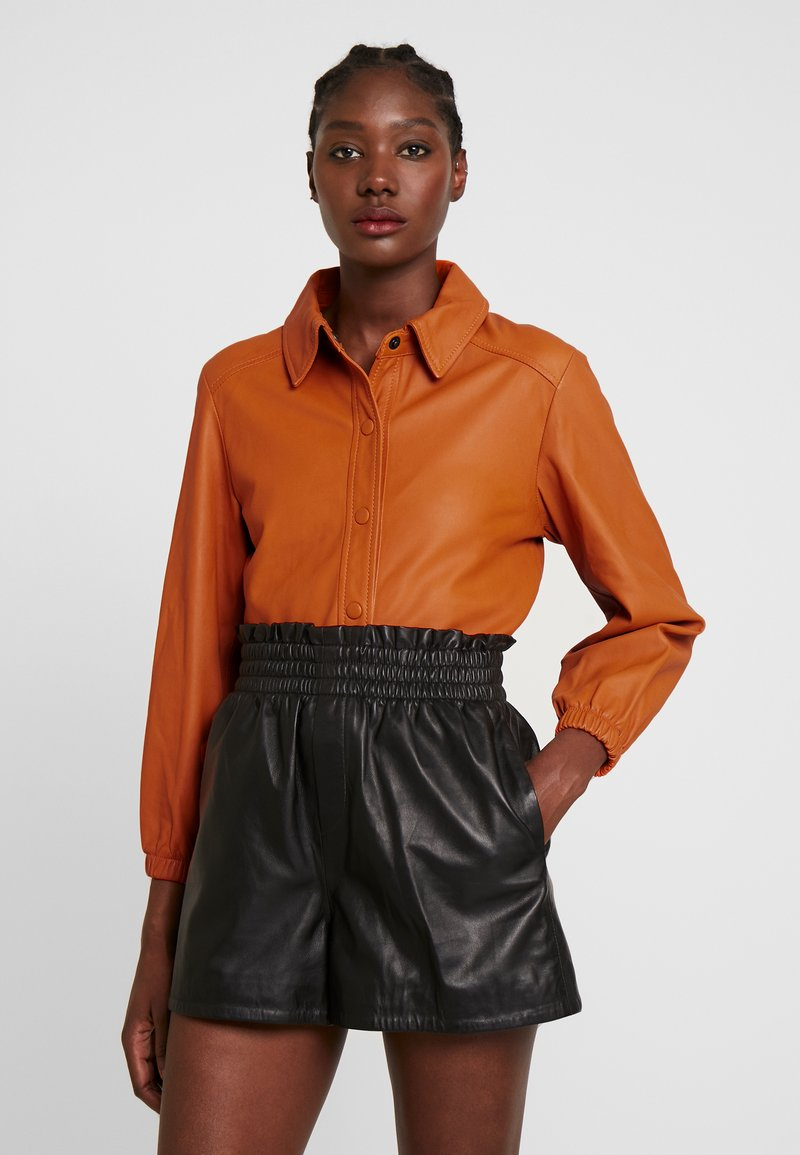 Ibana - KAYLA - Button-down blouse - orange