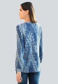 Alba Moda - Tunic - blau,off-white - 2