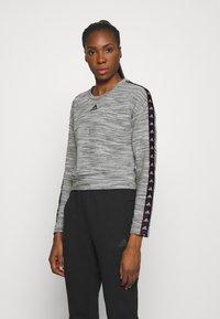 adidas Performance - Sweatshirt - medium grey heather/black - 0