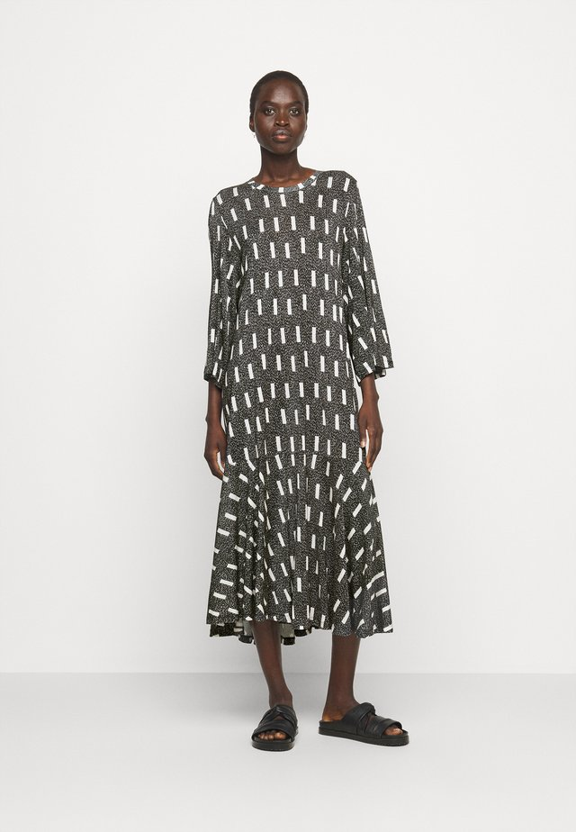 STREAM DRESS - Vestito di maglina - anthracite