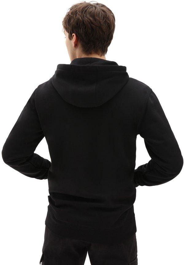 Vans Bluza z kapturem - black/czarny Odzież Męska NIXR