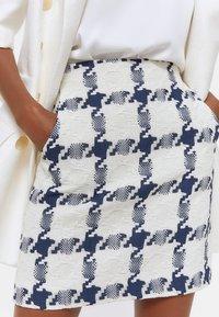 Uterqüe - Mini skirt - dark blue - 4