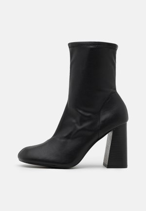 BRODY STRETCH SOCK BOOT - Kotníkové boty - black