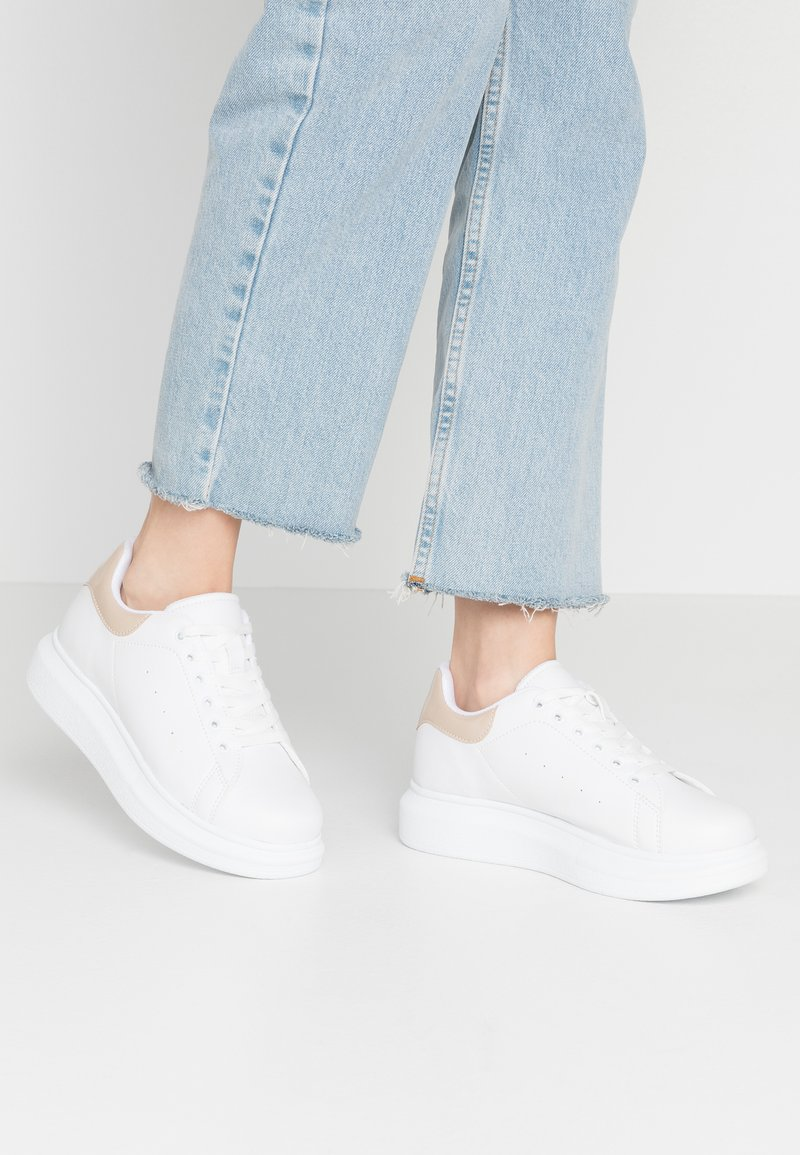 Nly by Nelly - PERFECT - Sneakers laag - white/beige