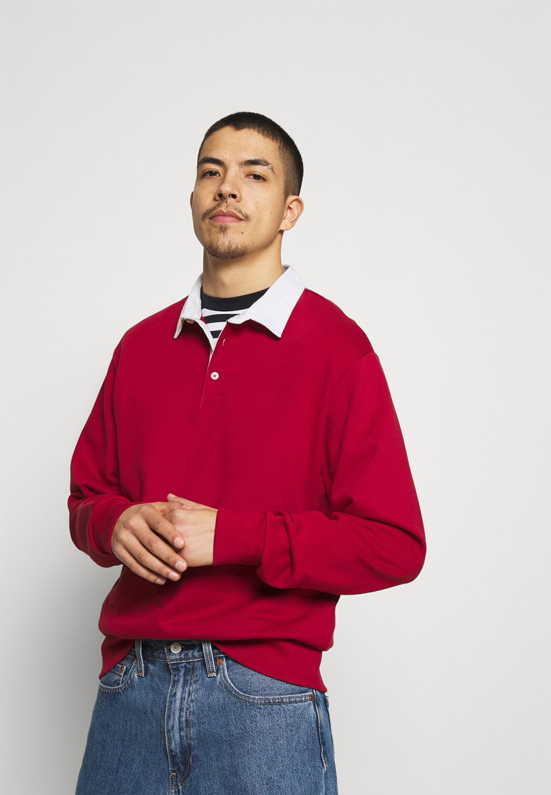 Weekday - RON RUGGER - Sweatshirt - red medium
