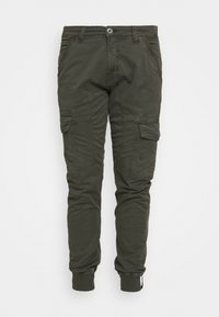 SPARK - Cargo trousers - greyblack