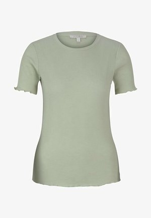 SLUB TEE - Camiseta básica - light dusty green
