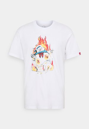 INFERNO - T-shirts print - optic white