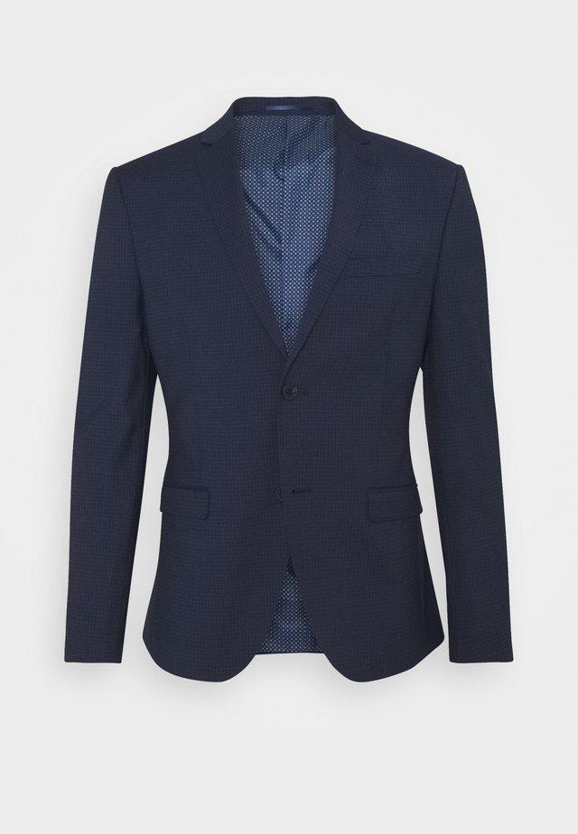 Blazere - dark blue check