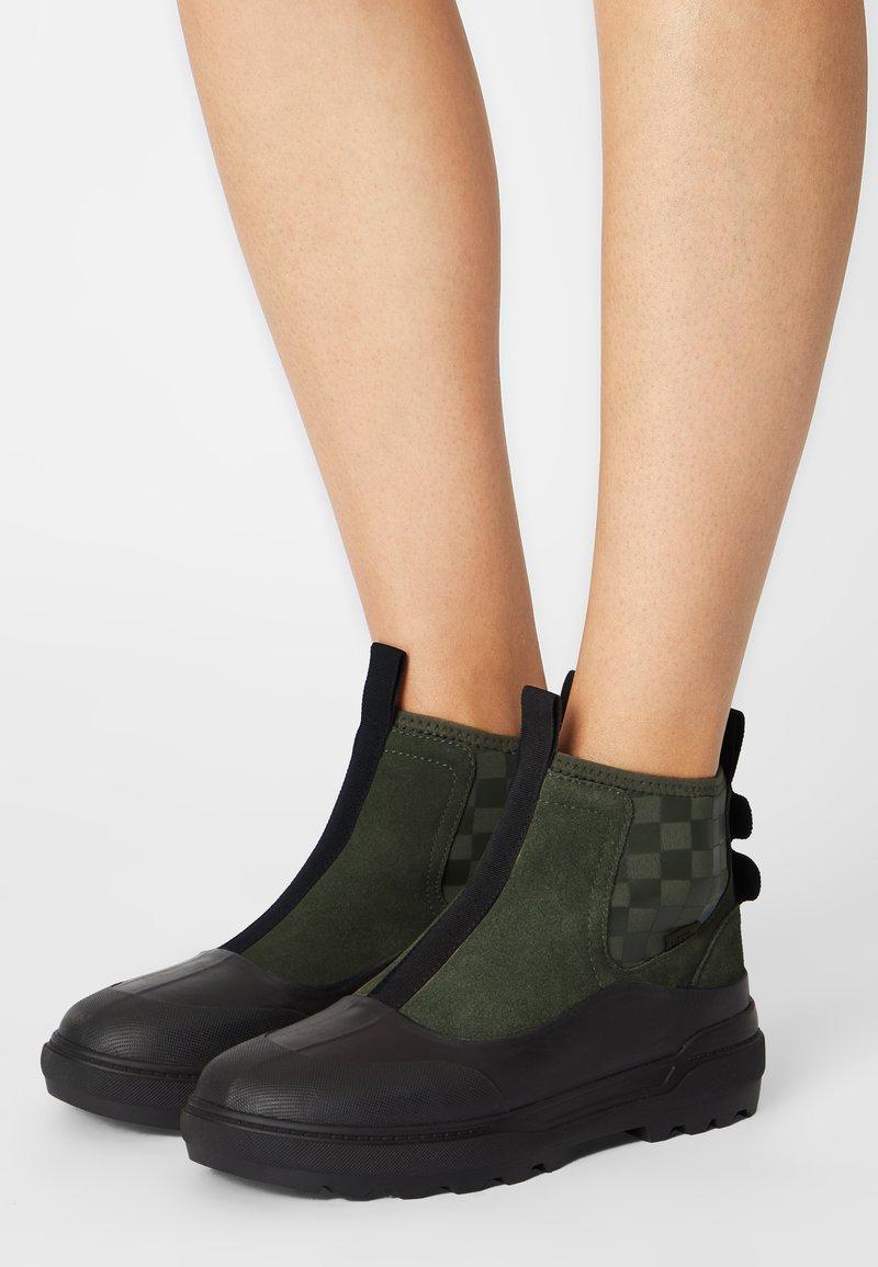 Vans - COLFAX  - Ankle boots - grape leaf/black