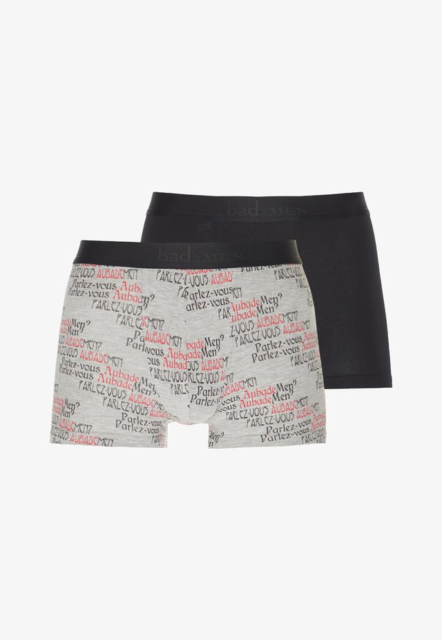 2 PACK - Shorty - grey