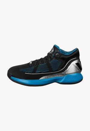 ADIDAS PERFORMANCE D ROSE 10 STAR WARS BASKETBALLSCHUH HERREN - Basketball shoes - core / silver metal / hi-res aqua