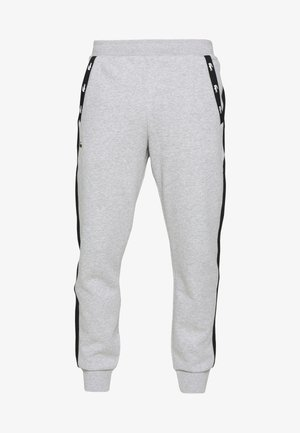 PANT TAPERED - Verryttelyhousut - silver chine/black