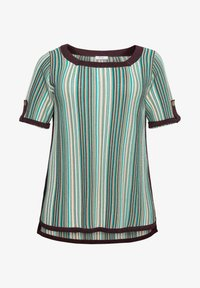 Sheego - Print T-shirt - green - 4