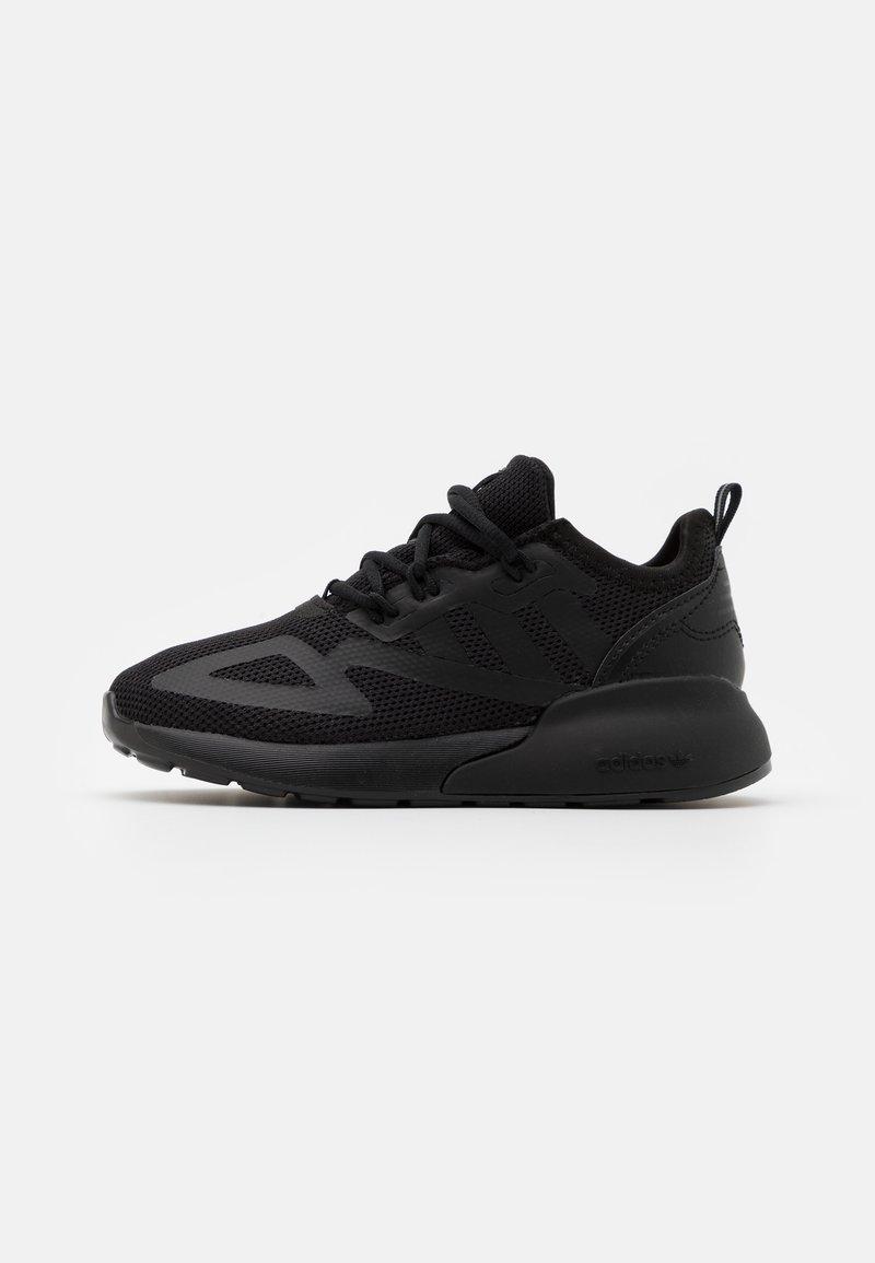adidas Originals - ZX 2K UNISEX - Trainers - core black/shock pink