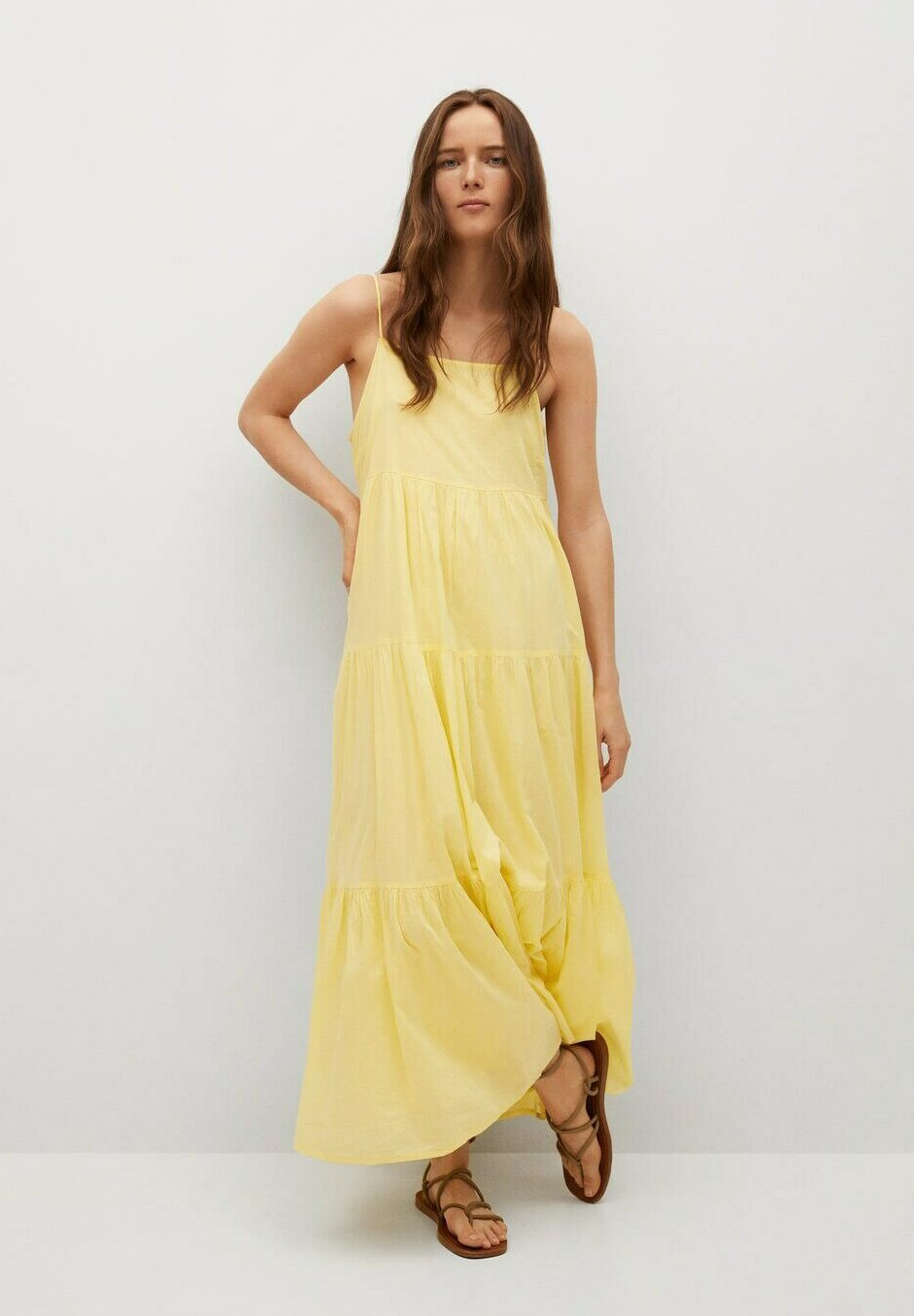 Women COTTON - Maxi dress