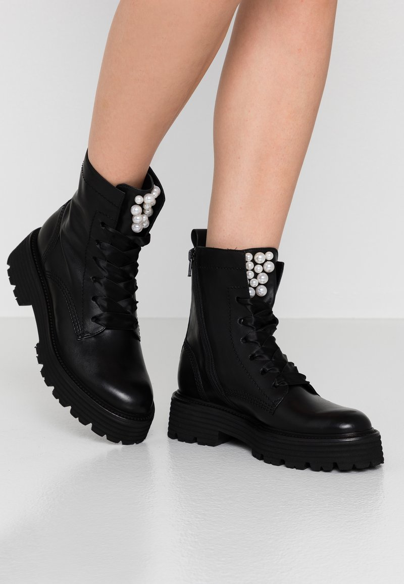 Kennel + Schmenger - POWER - Platform ankle boots - schwarz