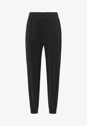 SOFT-TOUCH JOGGERS  - Teplákové kalhoty - black