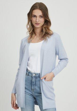 BYNONINA - Cardigan - brunnera blue melange