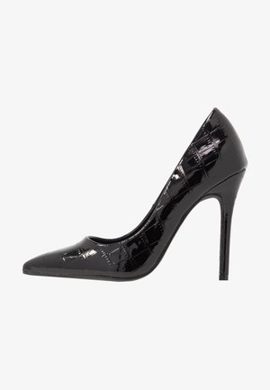 CATERINAPOINTED STILETTO COURT - Høye hæler - black