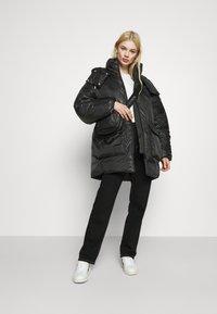 Weekday - MARTINE PUFFER - Winter coat - black - 1